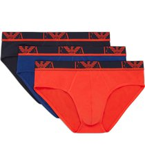 armani slips stretch cotton 3-pack oranje