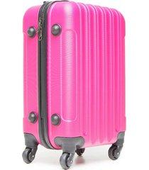 maleta viaje grande rosada