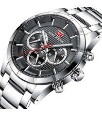 reloj análogo mf0170g-3 hombre gris