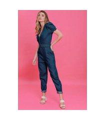 macacão jeans letícia