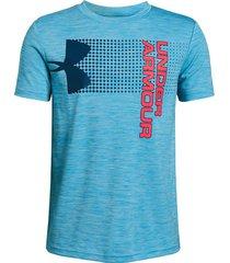 camiseta under armour para niños crossfade azul