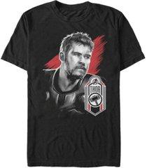 marvel men's avengers endgame the asgardian thor tag short sleeve t-shirt
