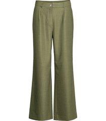 pants w. wide legs wijde broek groen coster copenhagen