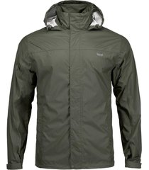 chaqueta abyss b-dry verde militar lippi