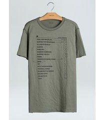 t-shirt double linen collections-oliva