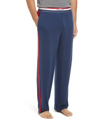 men's tommy john second skin pajama pants, size xx-large - blue