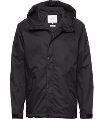 region jacket regenkleding zwart makia