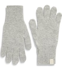 women's rag & bone ace cashmere gloves, size one size - grey