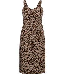 print bi-stretch sheath dress jurk knielengte multi/patroon banana republic