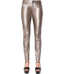 saint laurent skinny low waist trousers