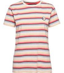 cali standard tee yd stri t-shirts & tops short-sleeved rosa rip curl