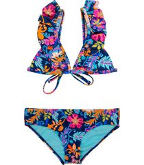 bikini triángulo azul h2o wear
