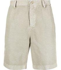 boglioli straight-leg bermuda shorts - neutrals
