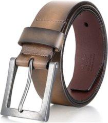 mio marino men's jean prong leather belt