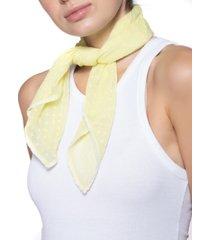 inc swiss dot bandana scarf, created for macy's