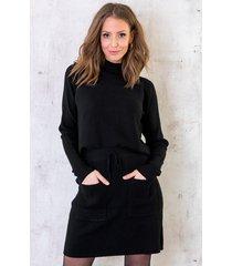 twinset trui met col zwart