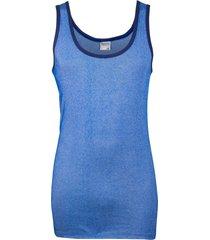heren hemd m2000-l-blauw/wit gestreept