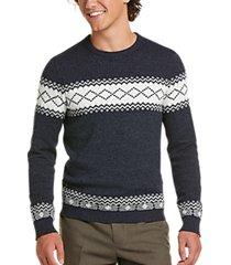 paisley & gray slim fit crewneck sweater