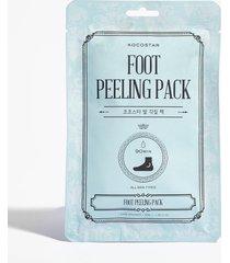 womens kocostar peelin' good foot treatment socks - white