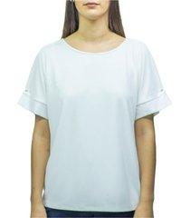 blusa combo blanco calvin klein