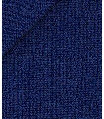 giacca da uomo su misura, drago, blu hopsack organico, quattro stagioni | lanieri