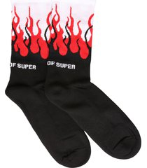 vision of super double flame socks