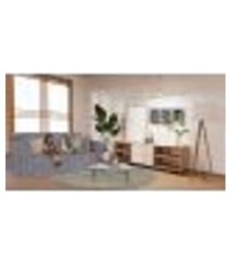 capa para sofá 3 lugares impermeável acquablock protetor karsten cor grafite