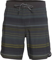 "prana men's ground speed 7.5"" inseam yoga shorts - rye pontoon x-small cotton"