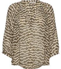 erdonaepw bl blouse lange mouwen multi/patroon part two