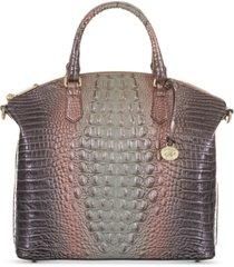 brahmin large duxbury melbourne embossed leather satchel