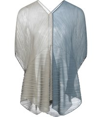 pleats please issey miyake capes & ponchos