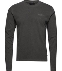 casual tee long sleeve t-shirts long-sleeved grå han kjøbenhavn