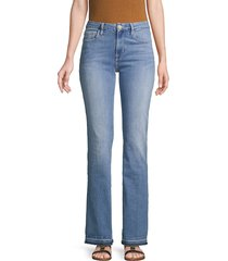 frame denim women's le mini released-hem bootcut jeans - stowe - size 23 (00)