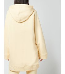 holzweiler women's sissel hoodie - yellow - l