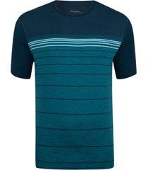 camiseta com lycra  listrada azul mar inspire - kanui