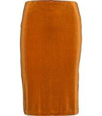 naurapw sk knälång kjol orange part two