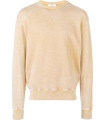 ami acid washed sweatshirt - neutrals
