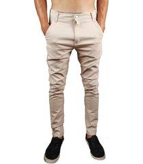pantalón beige buxter chino
