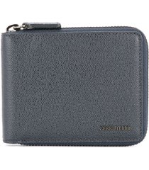 cerruti 1881 zip around wallet - blue