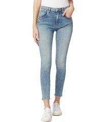 hudson women's barbara high-rise bootcut jeans - blue - size 29 (6-8)