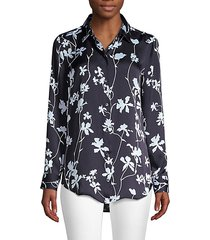 essential floral print blouse