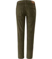 comfortable fit-broek model cooper fancy van brax feel good groen