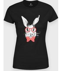 koszulka hipster bunny