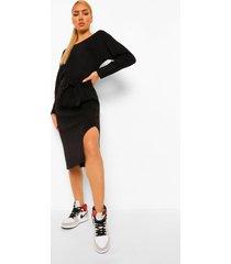 basic woman leggings, black