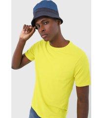 camiseta lacoste casual amarelo
