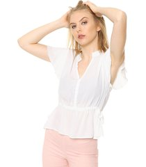 blusa natural asterisco nicht