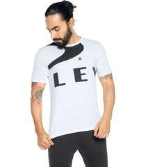 camiseta blanca-negra oakley