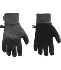 guantes etip gris the north face