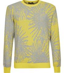 roberto collina splash paint sweatshirt