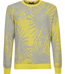 roberto collina splash paint sweatshirt